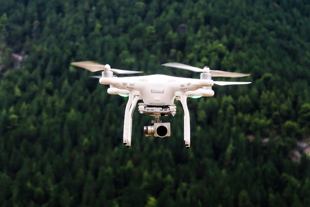 aerial-view-of-drone