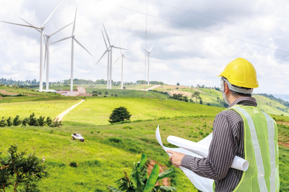 wind power and engineer
