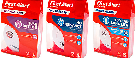 Smoke alarm package changes buyer behaviour