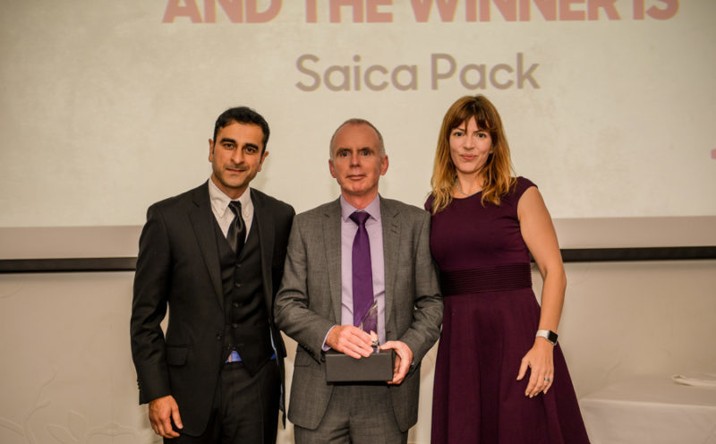 Saica Pack Gets A Pizza The Action With Top Award