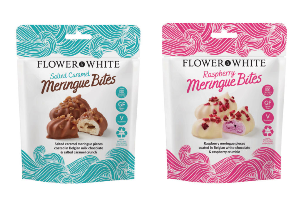 flower-and-white-meringue-bites-plastic-free-packaging