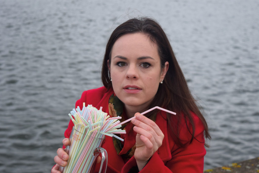 Kate Forbes MSP Highlands and Islands Final Straw Reduce Single-use Plastics