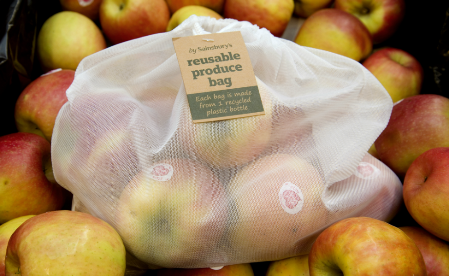 sainsburys reusable produce bag