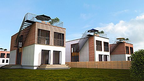 A series of energy-efficient homes will be built on the BRE Innovation Park.