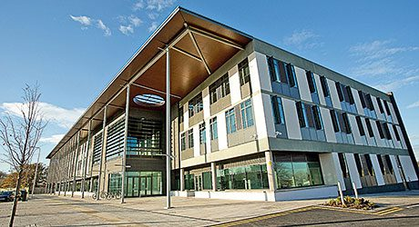 The East Neighbourhood Centre and Craigmillar Library.