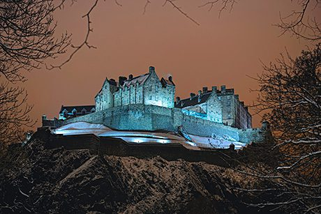 Edinburgh Castle, which uses enough energy to power 300 homes, is making fast progress in its bid to reduce carbon emissions.