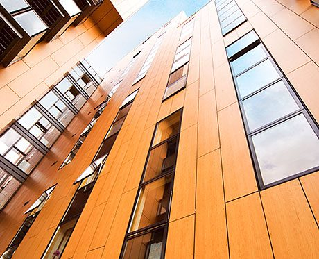 THE safety of Rockpanel cladding boards has been improved with the launch of products manufactured to the new FS-Xtra grade that complies with European fire classification level A2-s1, d0.