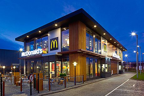 That's another storey - New generation of McDonalds drive-through restaurants