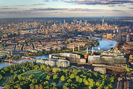Carillion has won the bidding race for the first phase of redevelopment at London's famous Battersea Power Station site.
