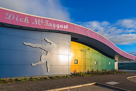 Previously used by Dundee College, the building will become a centre for gymnastic excellence in Tayside and Fife and provide the facilities to give the area's gymnasts the opportunity to reach their full potential in the build-up to the Games. The Dick McTaggart Centre is named after the boxer who won Commonwealth gold in 1958.