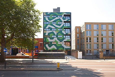 USING Trespa's Meteon panels, a £2m affordable housing scheme in London includes latticed façades inspired by ivy vines.