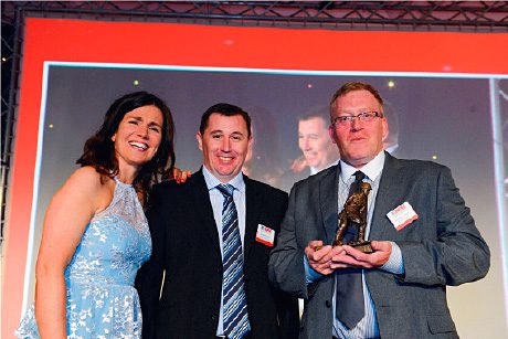 The top prize - Award for Marley Contract Services