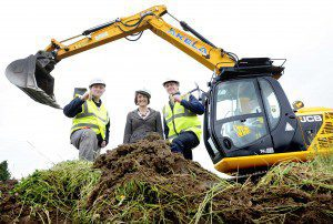 FREE PIC- Employment Minister at Armadale Housing Groundbreaking