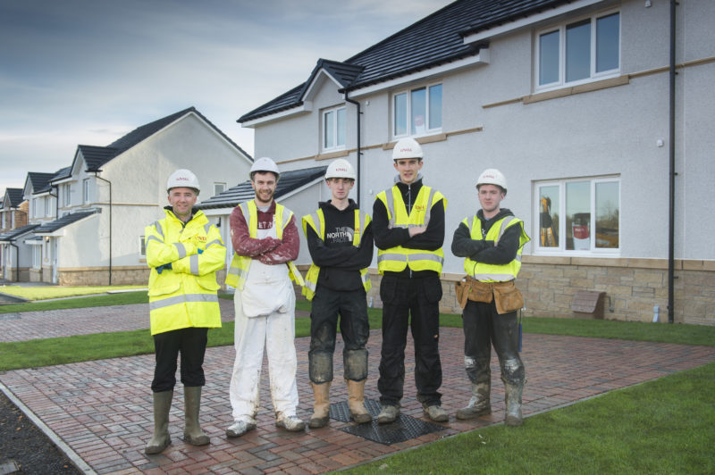 West Lothian Social Housing Programme Brings Local Jobs