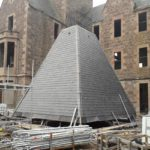 Great Glen Hall tower roof