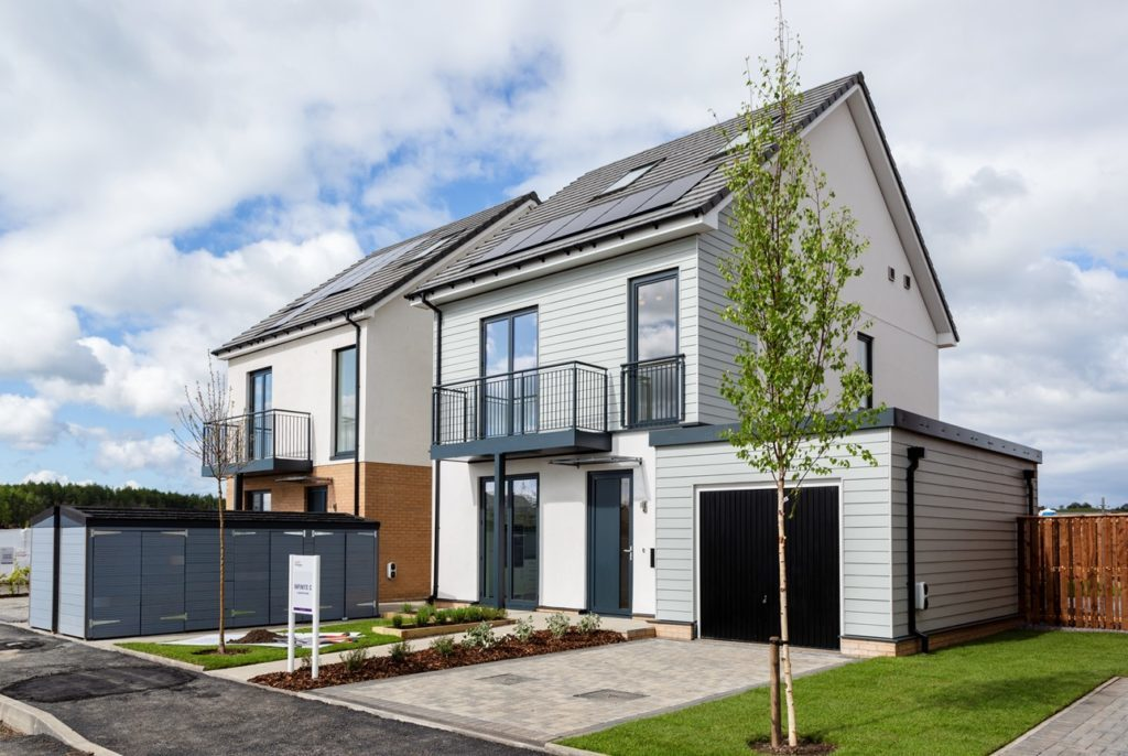 Taylor Wimpey Dungavel development home