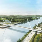 Proposed moving bring for new Clyde Crossing in Glasgow