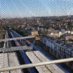 Castle Scaffolding's new safety netting