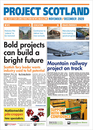 Project Scotland front cover November and December 2020