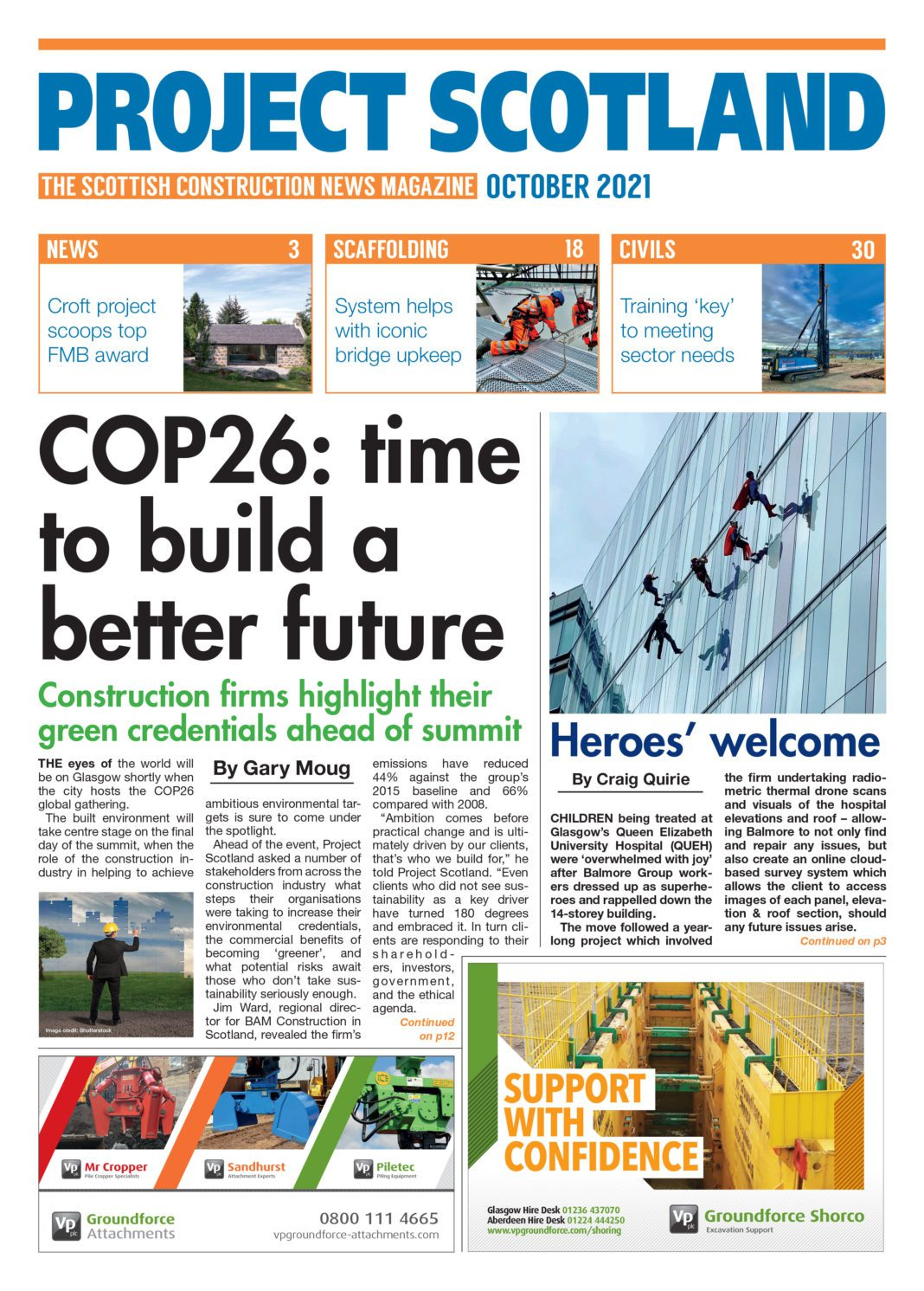 Project Scotland front cover June 2021