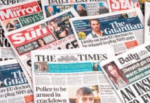 Newspapers frozen carrier charge increases