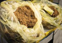Tobacco in bags